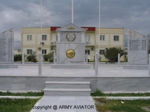 Το κεντρικό και επίσημο Ηρώον Πεσόντων του όπλου της Αεροπορίας Στρατού.