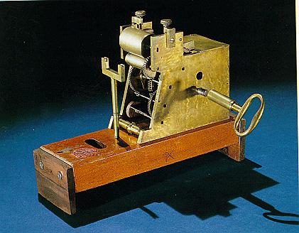 Αυτό ήταν το μοντ�λο που πήρε το δίπλωμα ευρεσιτεχνίας  την 1 Μαΐου 1849.