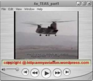 E/Π ΜΜΙ ΕΜΒ CH-47C. Προσέγγιση για προσθαλάσσωση στη λίμ. Υλίκη.