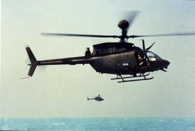AH-58D Kiowa Warrior (AHIP) Persian Gulf 1988