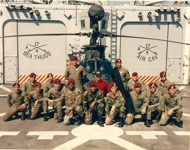 Task Force 118, 4/17 Cav & 4/2 ACR (Operation Prime Chance) επί του  USS Jack Williams  (FFG 24)