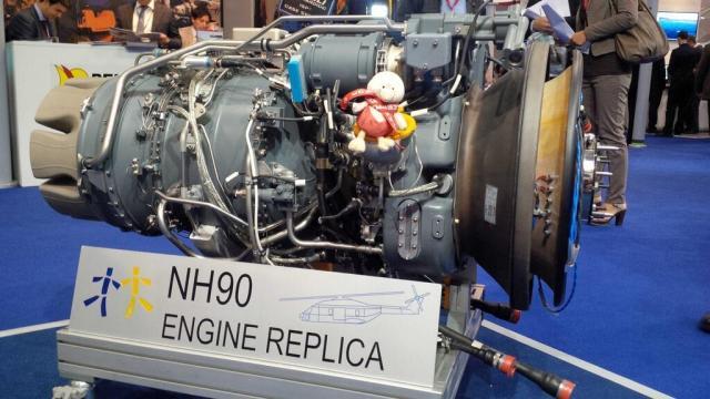 NH90 Engine Replica - RTM322
