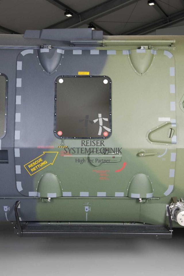 NH90 MTR Door Left