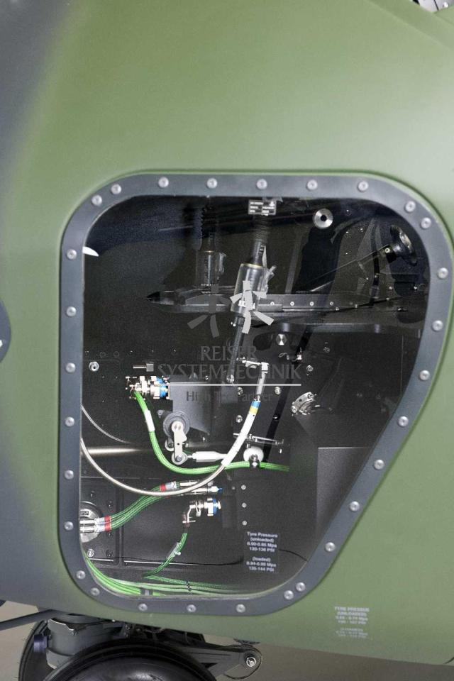 NH90 MTR Pedal Unit