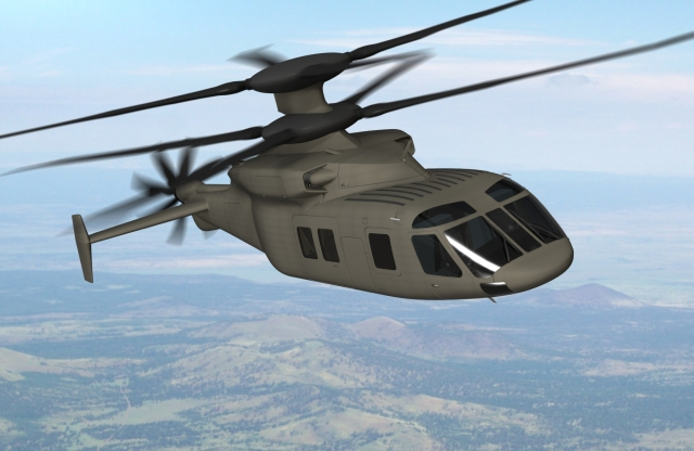 Sikorsky and Boeing are proposing a medium-lift compound helicopter demonstrator for the U.S. Army's joint multi-role technology demonstration Phase 1 effort. (Photo: Sikorsky Aircraft)