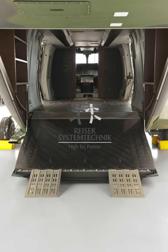 NH90 MTR Tail