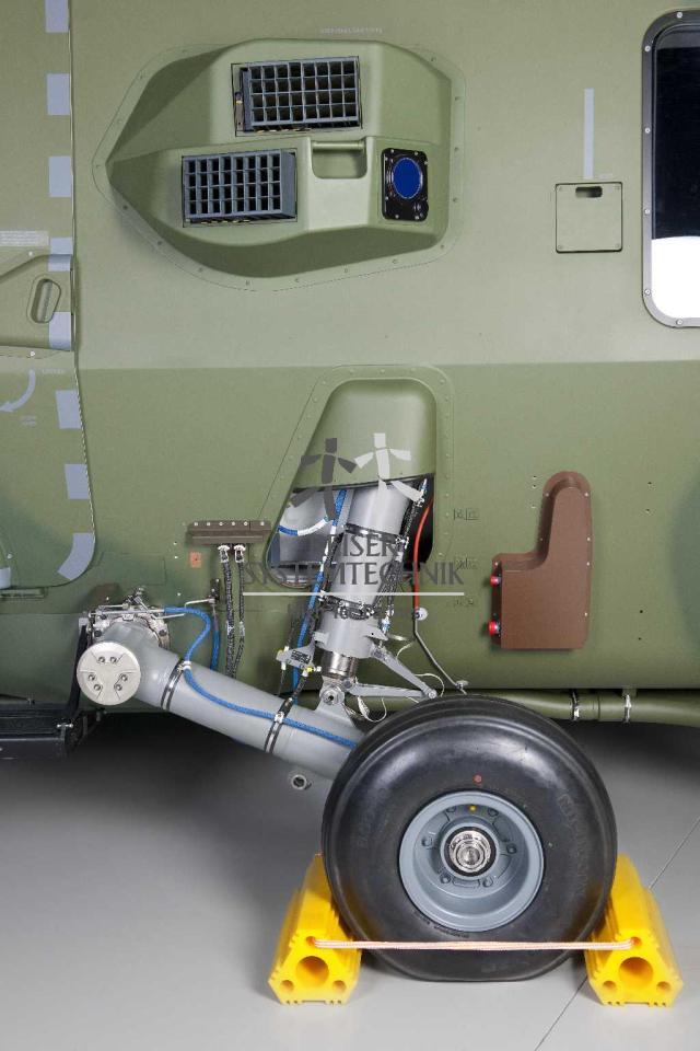 NH90 MTR Wheel Suspension