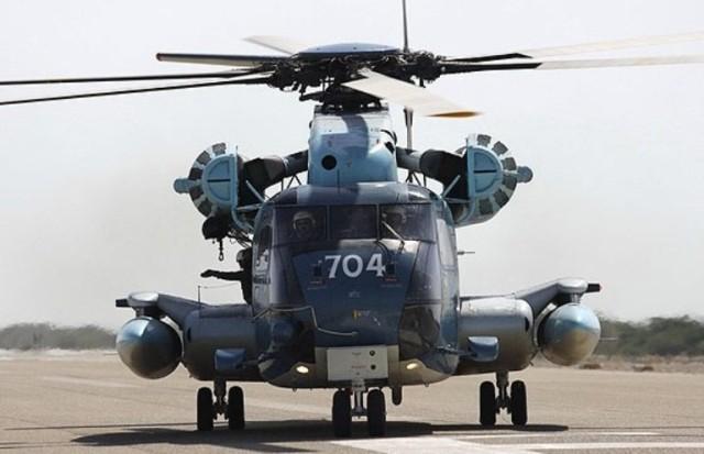 Iranian navy RH-53D. Via Mehr