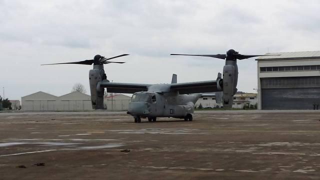 V-22 OSPREY στο Στεφανοβίκειο