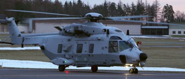 Helikopter 14 International Mission (HKP 14 IM), όπως ονομάζεται στην Σουηδία η έκδοση του ΝΗ-90 ΤΤΗ (μεταφορικού)