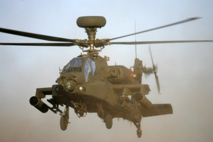 Apache WAH64D Helicopter