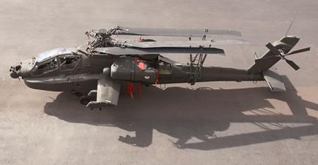 Folded Rotor Apache