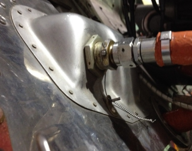 Loose and Unsecured B-Nut on Papillon Airways Inc EC130B4, N133GC (Credit: FAA)