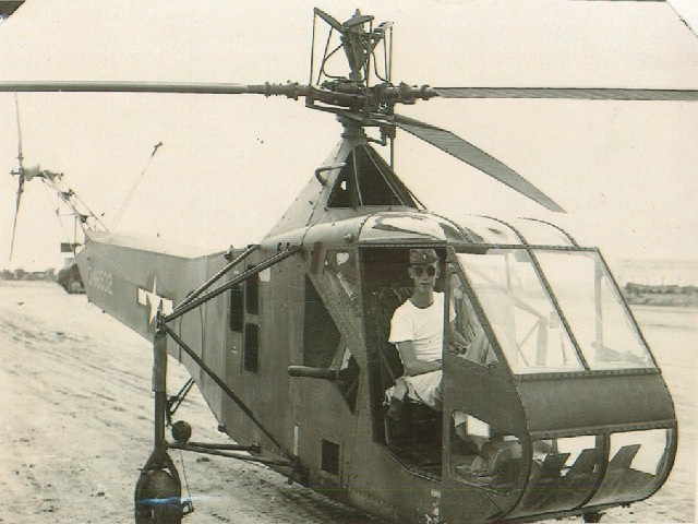 R-4CowgillOndeckOkinawa1945
