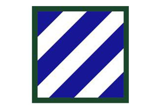 Το διακριτικό ώμου της Third Infantry Division (Photo Credit: U.S. Army)
